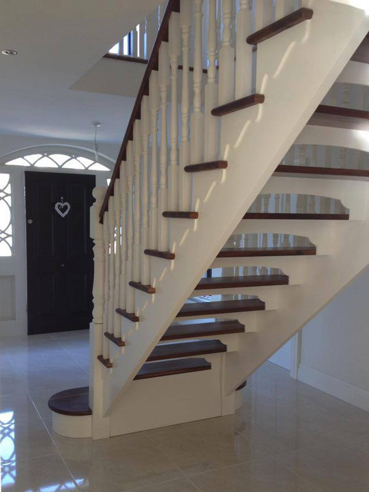 Contemporary Staircase Design Northern Ireland